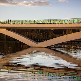 Ponte Pedro e Inês by José Sobral - Buildings & Architecture Bridges & Suspended Structures ( pedro e inês, parque verde, ponte, coimbra, 2012, josé sobral, bridge )