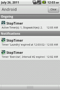 StopTimer - Stopwatch & Timer - screenshot thumbnail