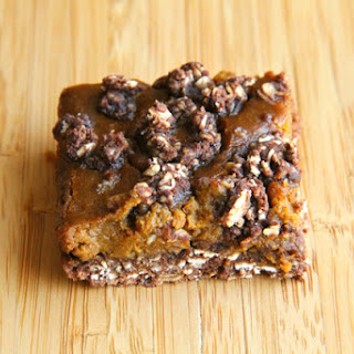 Pumpkin Pie Chocolate Oatmeal Bars