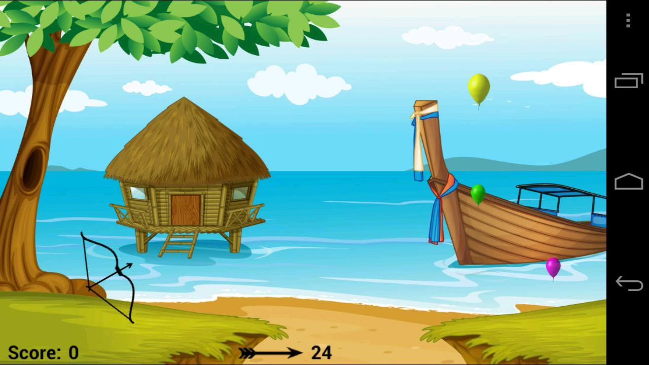 Balloon Bow & Arrow - screenshot
