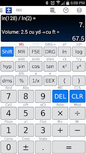 Scientific Calculator - FREE - screenshot thumbnail