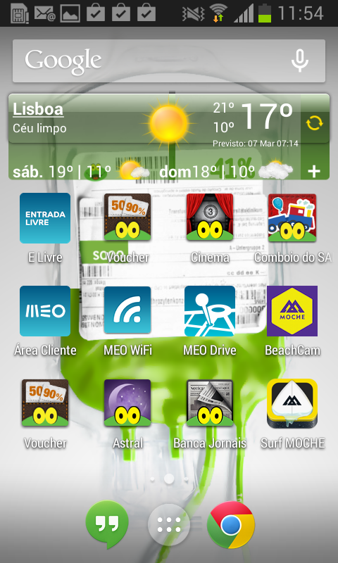 Energia SAPO - screenshot