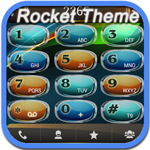 RocketDial Colorful Theme 通訊 App LOGO-硬是要APP