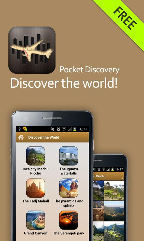 Pocket Discovery: Wallpapers- screenshot