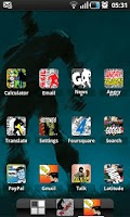 Screenshot of COMIC BOOK HD ADW Theme