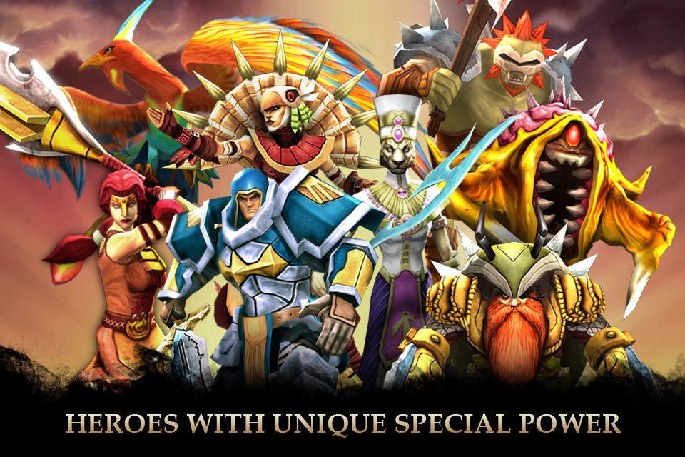 Legendary Heroes- screenshot