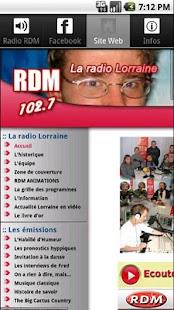 Radio RDM- screenshot thumbnail