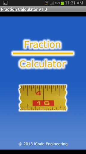 Fraction Calculator v1.0