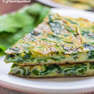 Spinach Frittata.