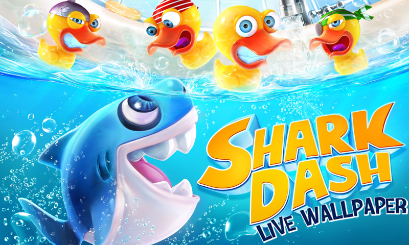 Shark Dash Live Wallpaper - screenshot