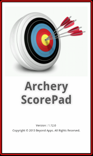 Archery Scorepad - Demo