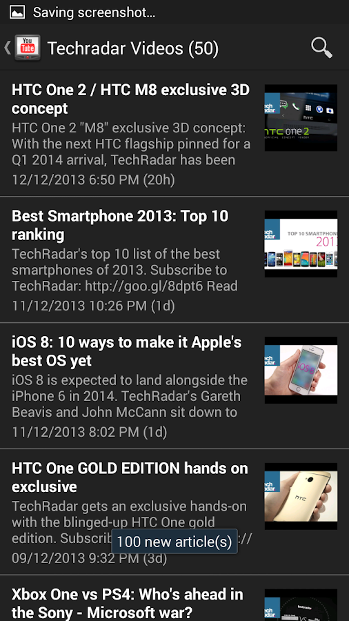 TechRadar News- screenshot