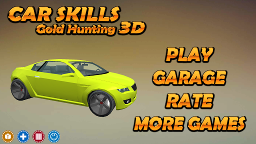 Car Skills Gold Hunting 3D