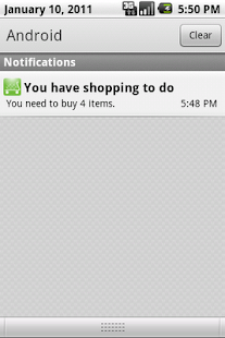 You've got shopping - screenshot thumbnail