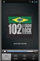 Screenshot of 102 A Rádio Rock/Santos/Brasil