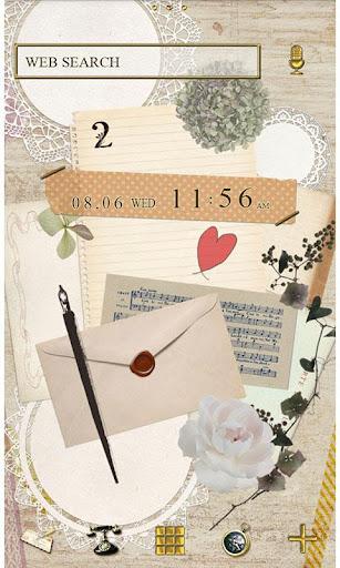 Natural Theme-Love Letter- 1.0 Windows u7528 1