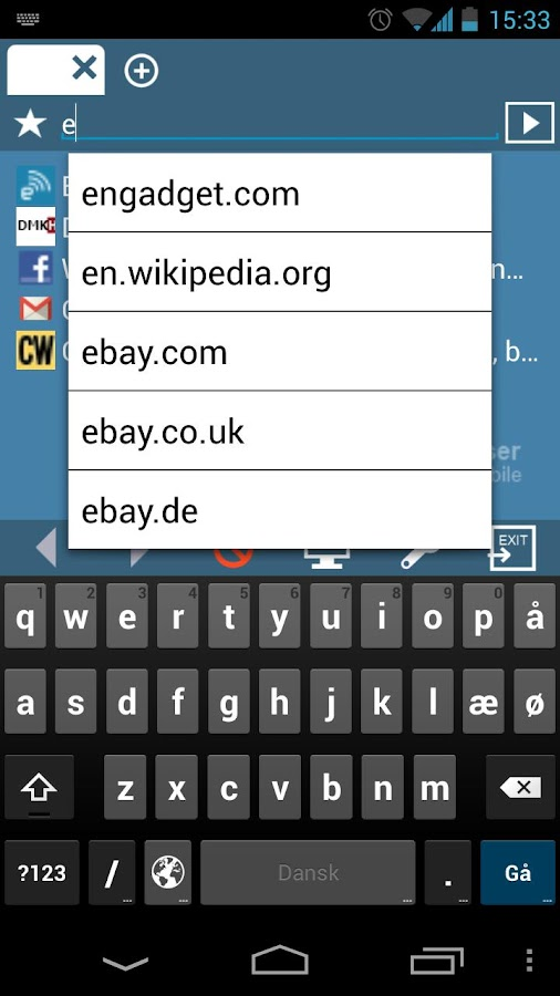 MiniBrowser BETA- screenshot