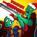 Zombies And Shotguns Holiday logo