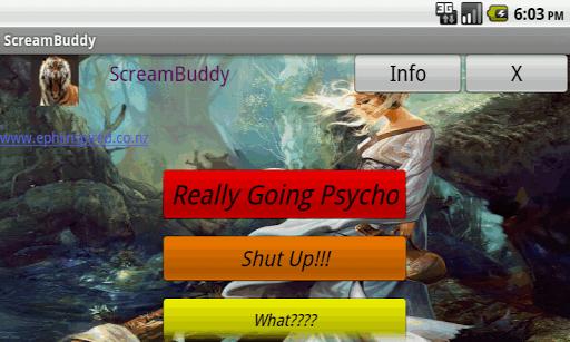 ScreamBuddy Free-stress relief