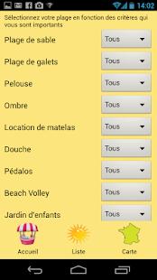 Plages et criques en France screenshot