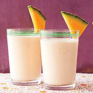 Cantaloupe-Yogurt Smoothie.