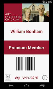 Digital Member Card- screenshot thumbnail