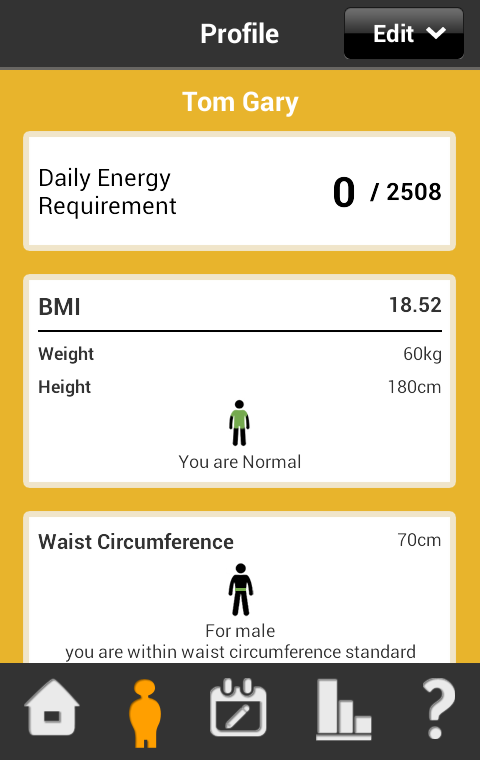 My Wellness Tracker HK - screenshot