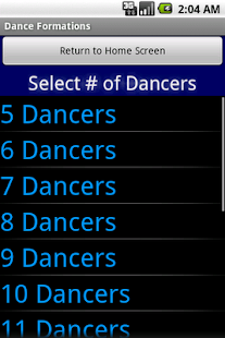 Dance & Cheer Formations - screenshot thumbnail
