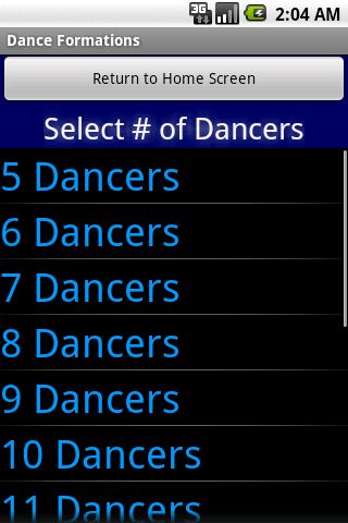 Dance & Cheer Formations - screenshot