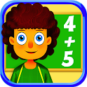 1 + 2 = 3 Math For Kids icon
