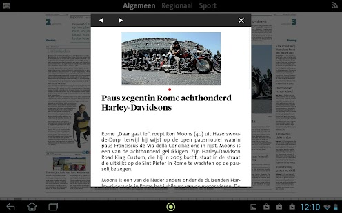 NHD digikrant - screenshot thumbnail