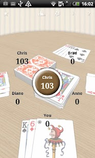 Crazy Eights free card game- screenshot thumbnail