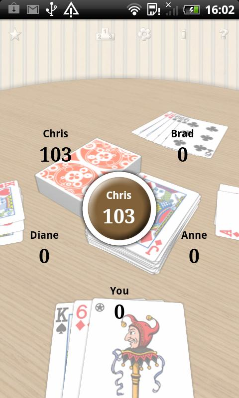 CrazyEights LITE - screenshot