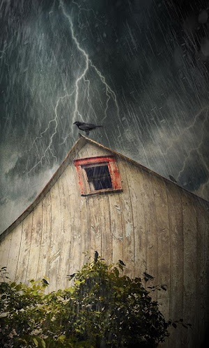 Haunted House Live Wallpaper Android App Screenshot