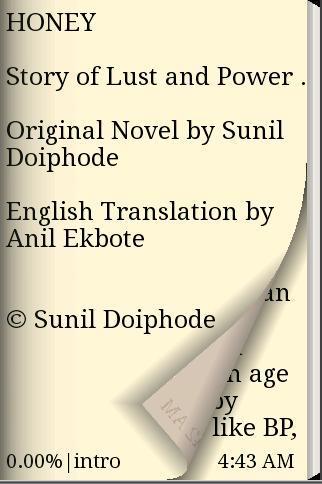 【免費書籍App】English Novel Book - Honey-APP點子
