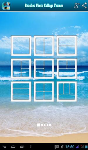 Beach Photo Collage Frames