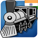 IndRail Indian Railway App icon