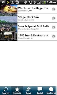 New England Inns & Resorts - screenshot thumbnail