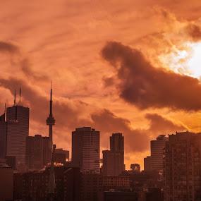 Toronto Sets II by Mauricio Alas - City,  Street & Park  Skylines ( #toronto #skyline #mauricioalas )