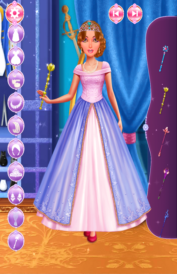 Princess Palace Salon Makeover- screenshot