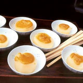Daikon Radish with White Miso Sauce (Furofuki Daikon).