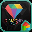 Diamond pop icon