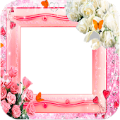 photo frames flower roses