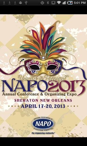 NAPO2013 Conference Expo