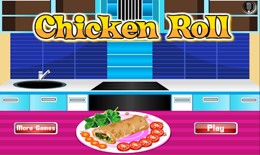 Chicken Roll Cooking Games