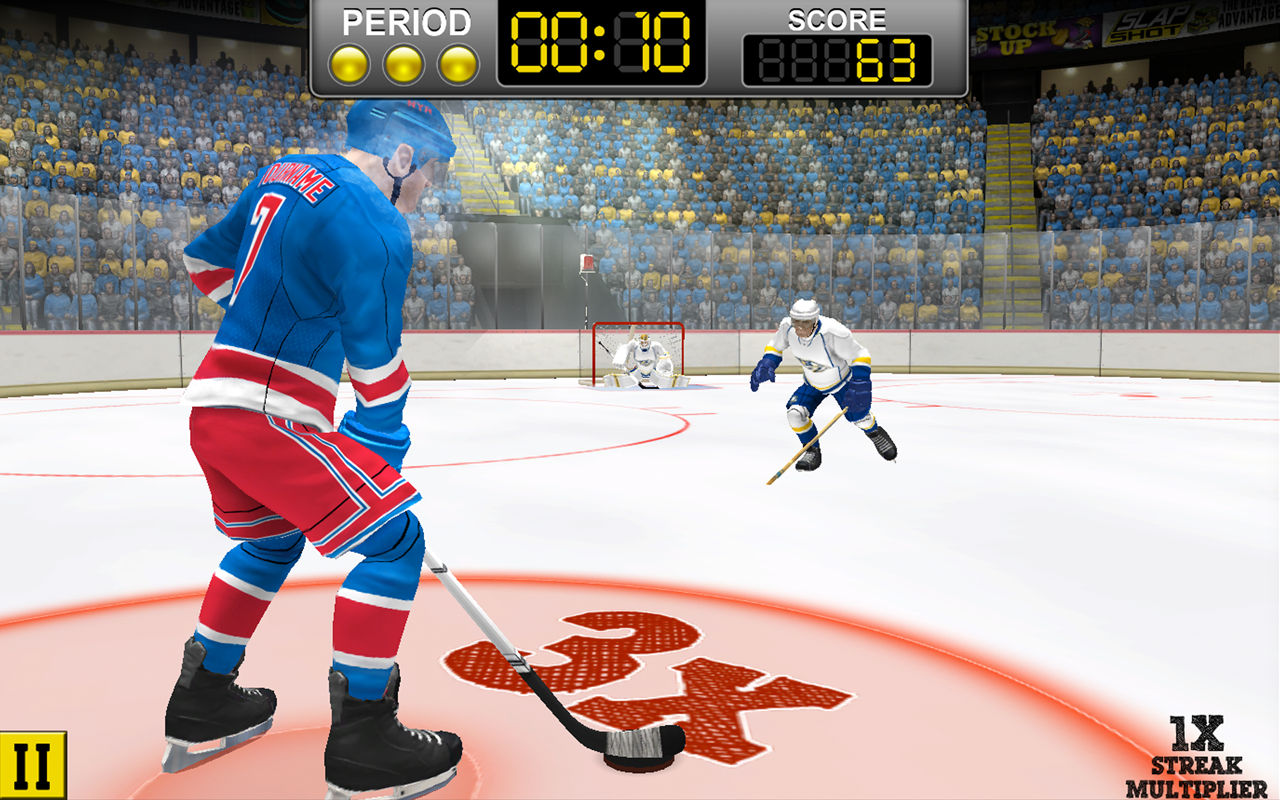 NHL Hockey Target Smash- screenshot