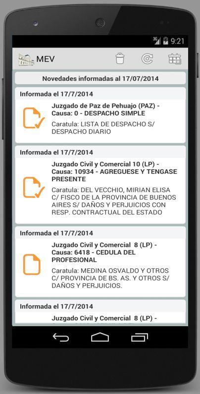 Mesa de Entradas Virtual - MEV- screenshot