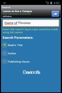Digital Bookcase- screenshot thumbnail