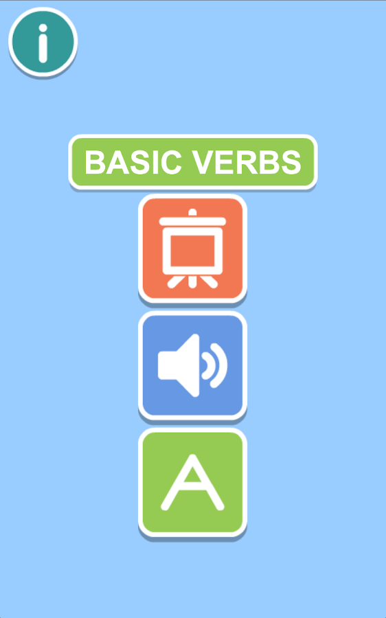 BASIC VERBS 2+- screenshot