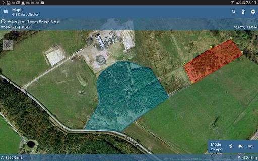 Mapit GIS - Map Data Collector & Measurements 6.9.2Core screenshots 11